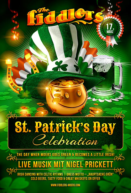 Fiddlers St Patricks Day 2016