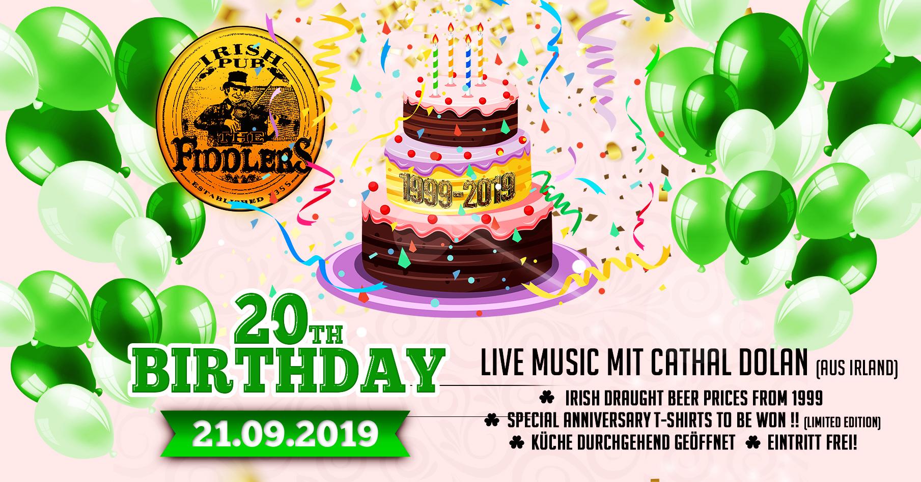 20th birthday-party