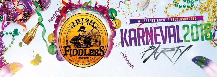 Fiddlers Karnevals-Party 2018