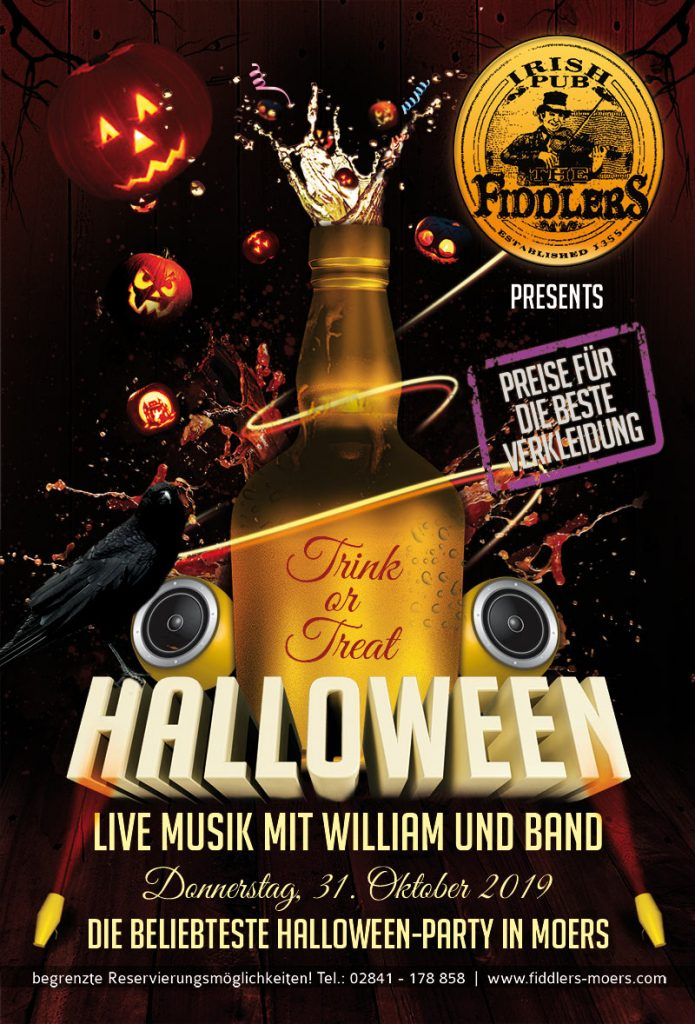 Fiddlers Halloween Party 2019