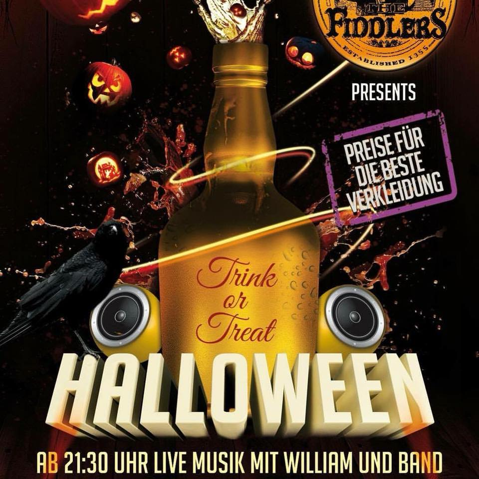 Fiddlers Halloween-Party 2018